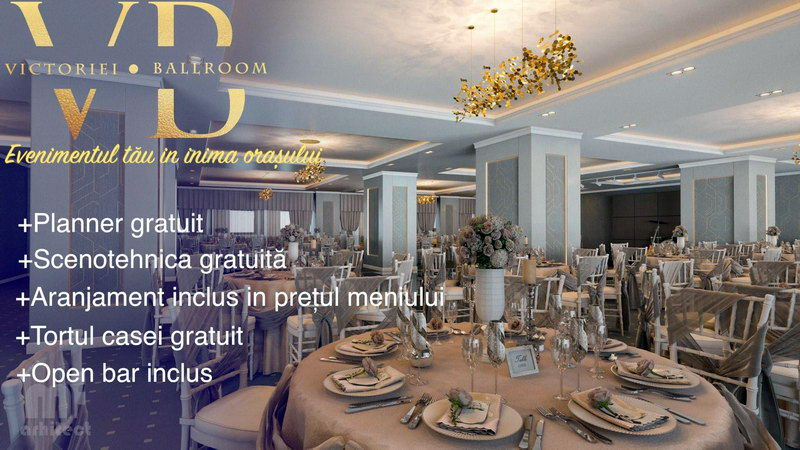 Foto Victoriei Ballroom - locatii nunta botez bucuresti